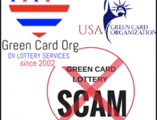 Scam Alert – USA GREEN CARD ORGANISATION